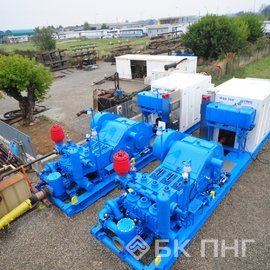 Mud Pumps WEI QF-1600 HL 7,500 psi